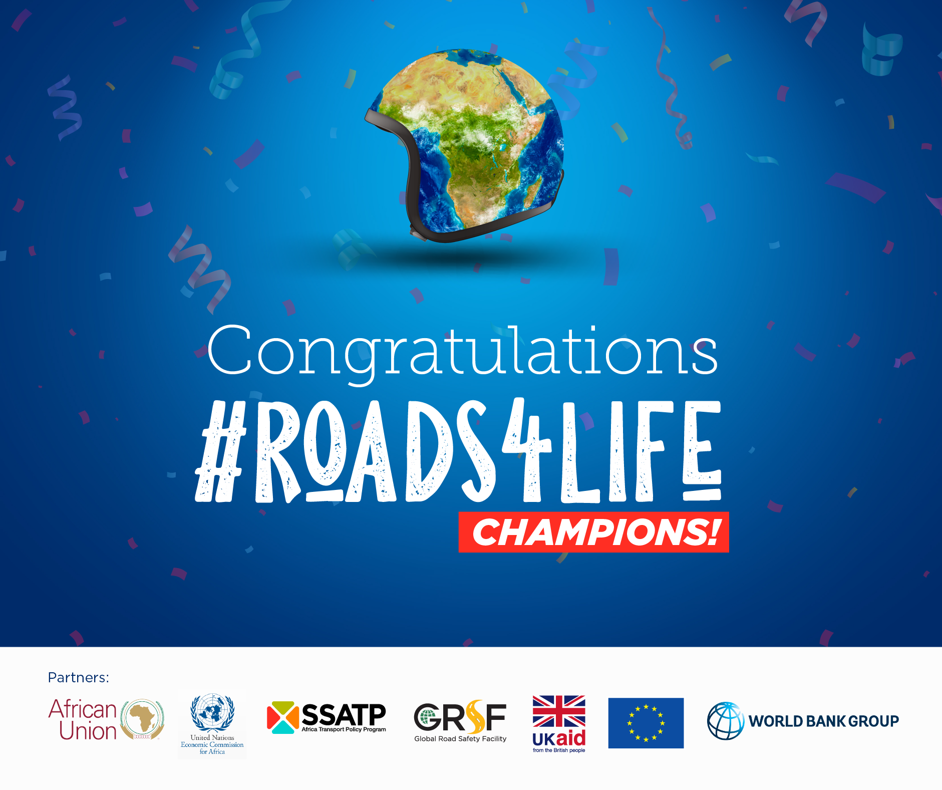 Winners of ARSO's #Roads4Life Storytelling Contest