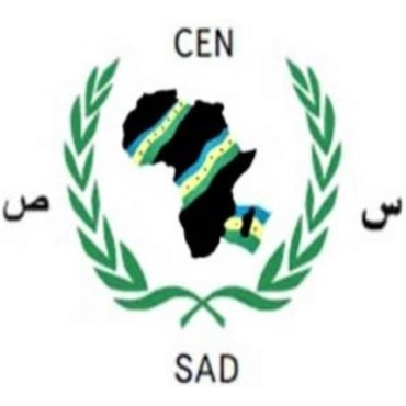 Logo of the Community of Sahel-Saharan States (CEN-SAD)