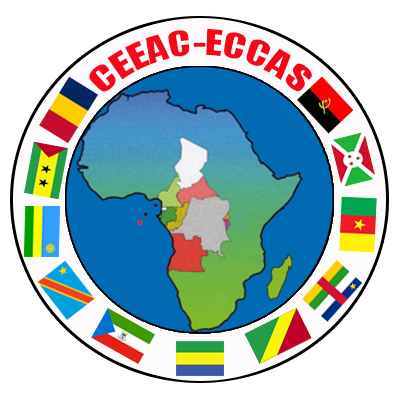 Logo of Economic Community of Central African States (ECCAS)