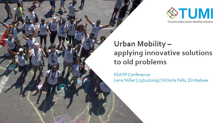 Urban Mobility - Applying Innovative Solutions to Old Problems