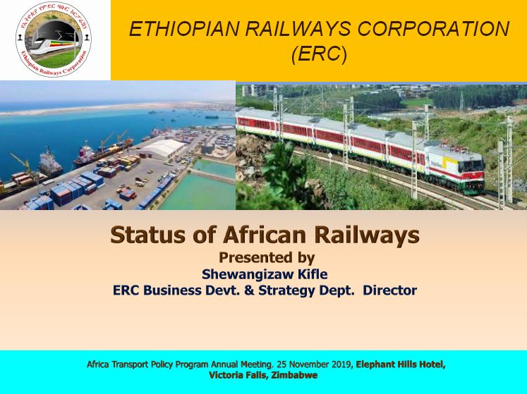 Status of African Railways