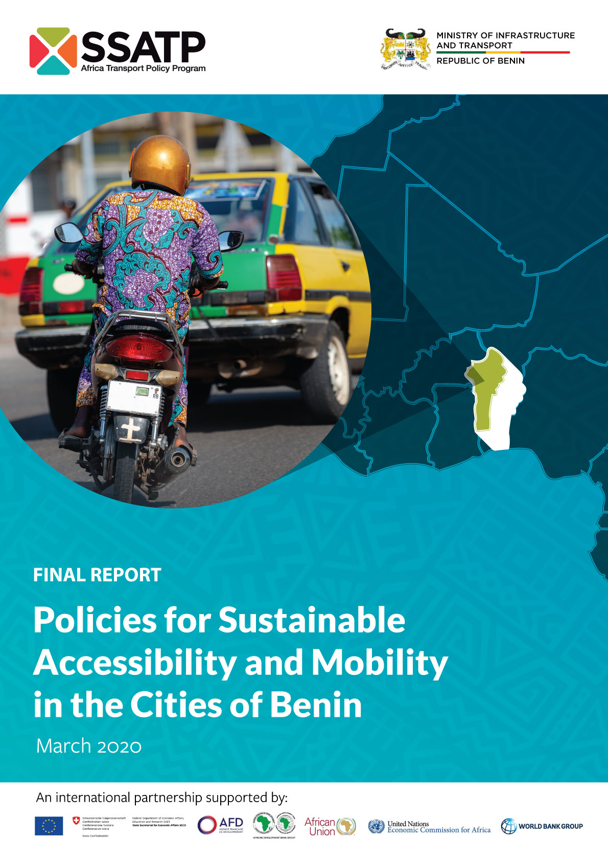 Policies for Sustainable Accessibility and Mobility in the Cities of Benin - Diagnostic Study