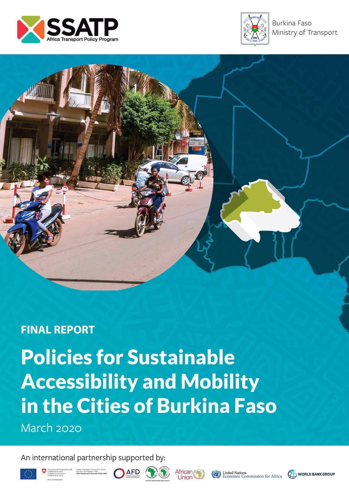 Policies for Sustainable Accessibility and Mobility in the Cities of Burkina Faso - Policy & Strategy Paper