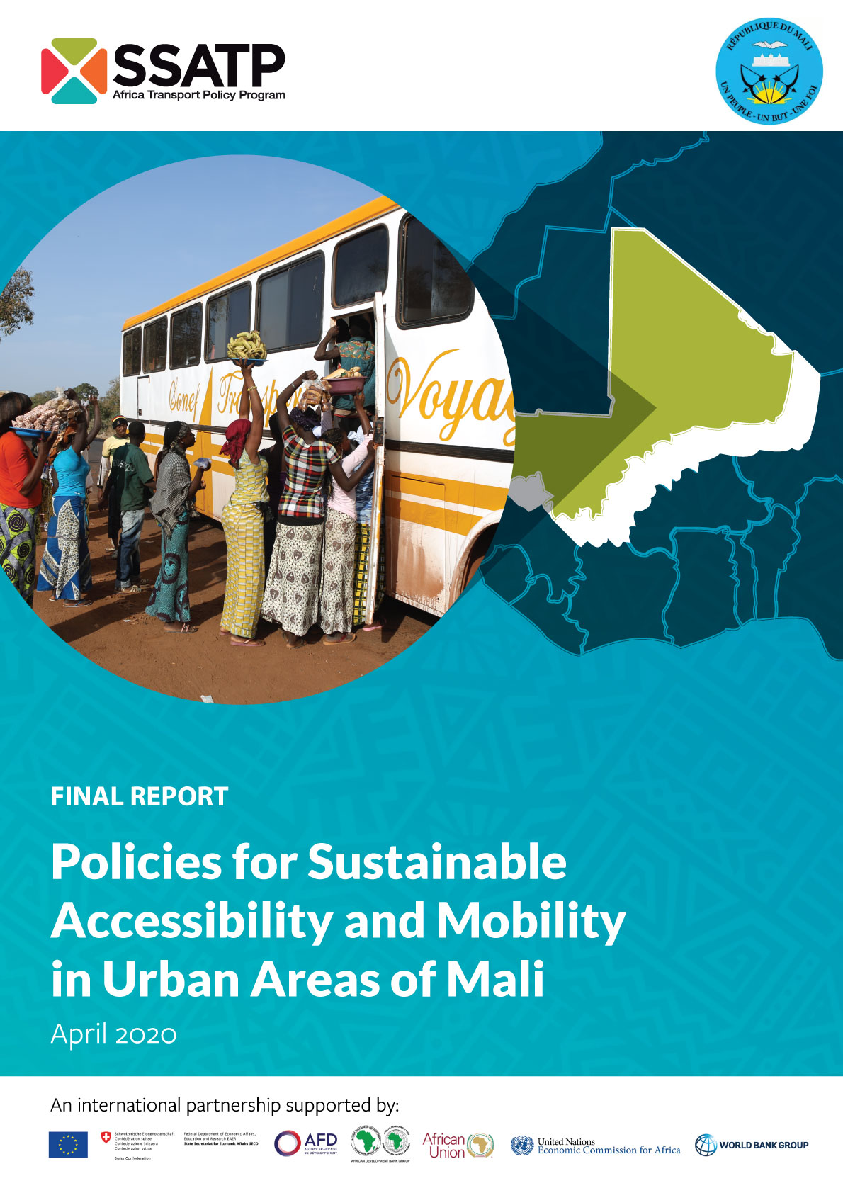Policies for Sustainable Accessibility and Mobility in Urban Areas of Mali - Diagnostic Study