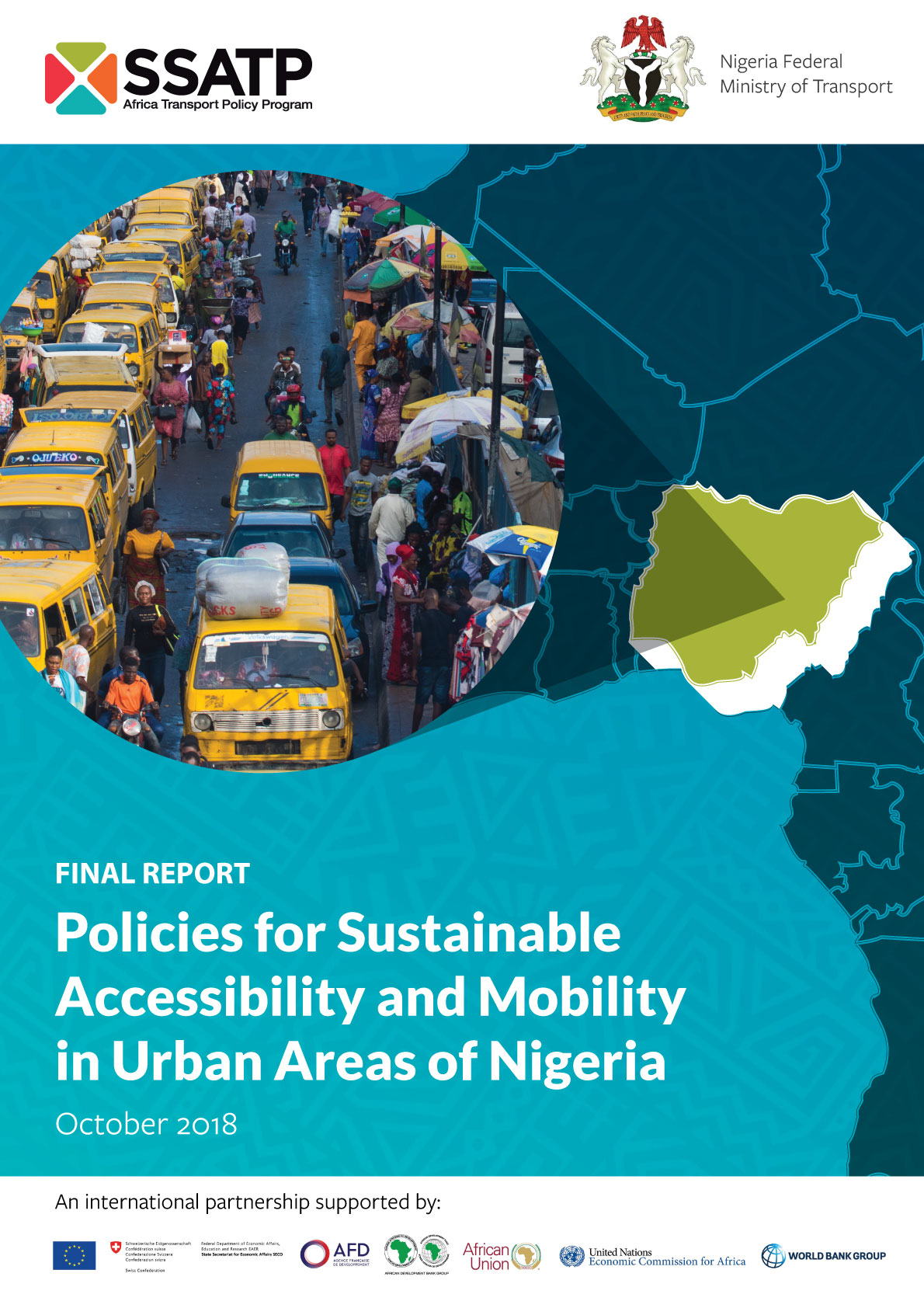 Policies for Sustainable Accessibility and Mobility in Urban Areas of Nigeria - Diagnostic Study