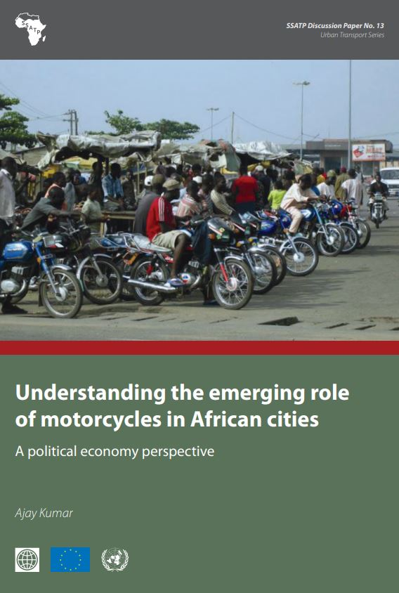 Understanding the Emerging Role of Motorcycles in African cities