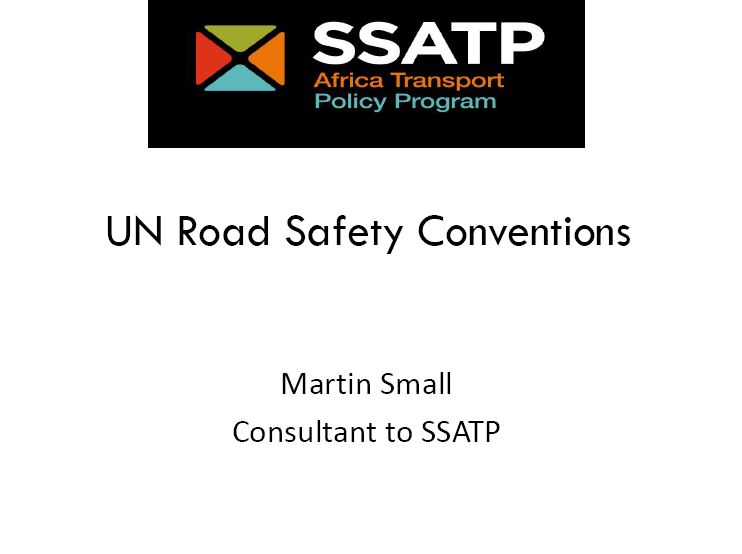 UN Road Safety Conventions