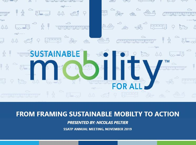 Sustainable Mobility for All (SUM4All): From Framing Sustainable Mobility to Action