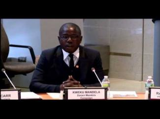 Kweku Mandela on Road Safety as a Human Rights Issue at the World Bank