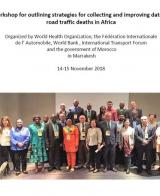 Workshop for Outlining Strategies for Collecting and Improving Data on Road Traffic Deaths in Africa