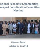 REC-TCC Meeting, Cotonou