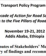Steps to the Five Pillars of Road Safety