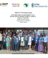 2nd ARSO Workshop in Abuja: Towards the Establishment of a Road Safety Observatory in Africa