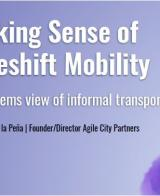 2nd UITP & SSATP Informal Transport Webinar: Making Sense of Makeshift Mobility: A Global and Systems View of Informal Transportation