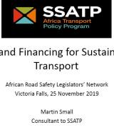 Law & Financing for Sustainable Transport