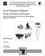 Local Transport Solutions: People, Paradoxes and Progress - Lessons Arising from the Spread of Intermediate Means of Transport