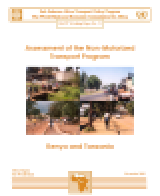 Assessment of the Non-Motorized Transport Program, Kenya and Tanzania